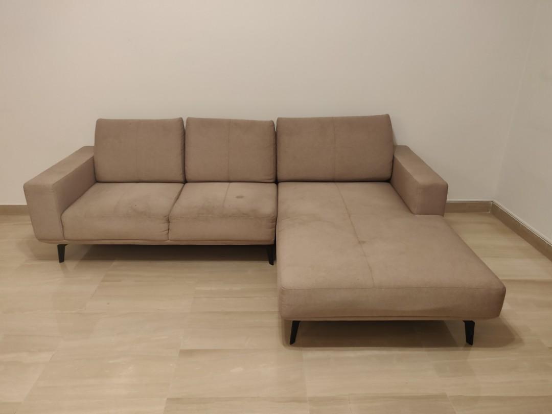 L Shape Designer Sofa Furniture Sofas On Carousell