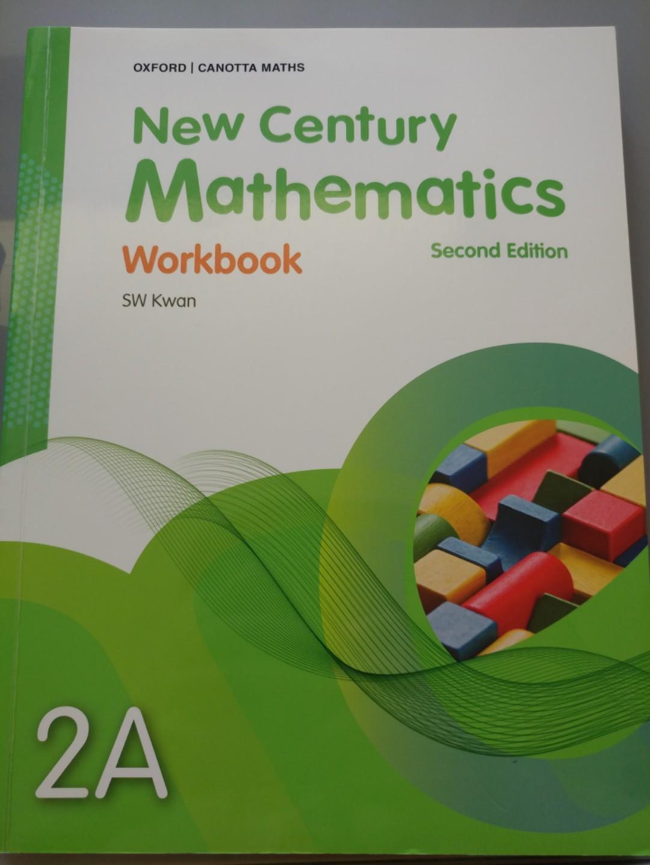 New Century Mathematics Workbook 2A Textbooks On Carousell