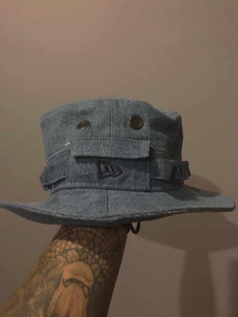 050522da New Era Jungle Hat, Men's Fashion, Accessories, Caps & Hats on Carousell