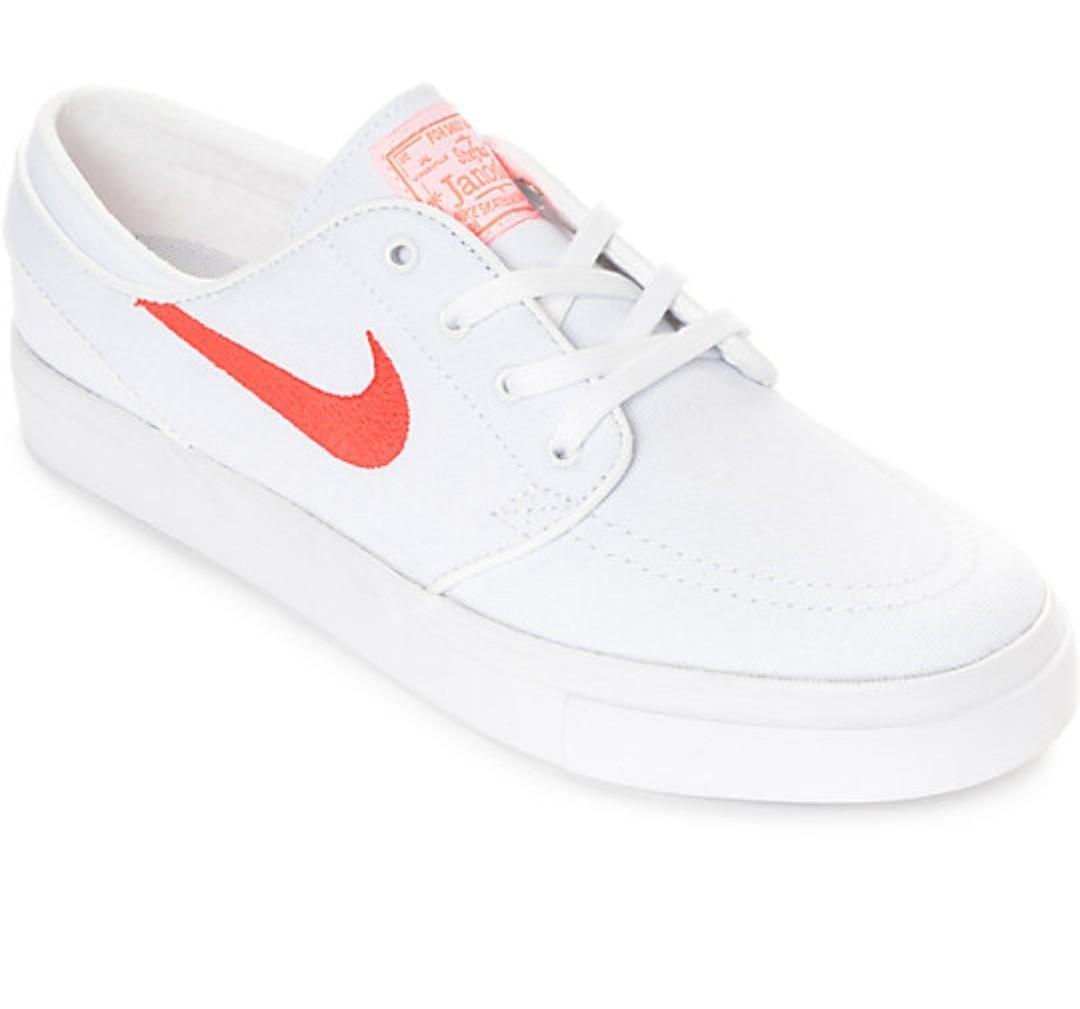 Nike SB Janoski White \u0026 Air Max Orange
