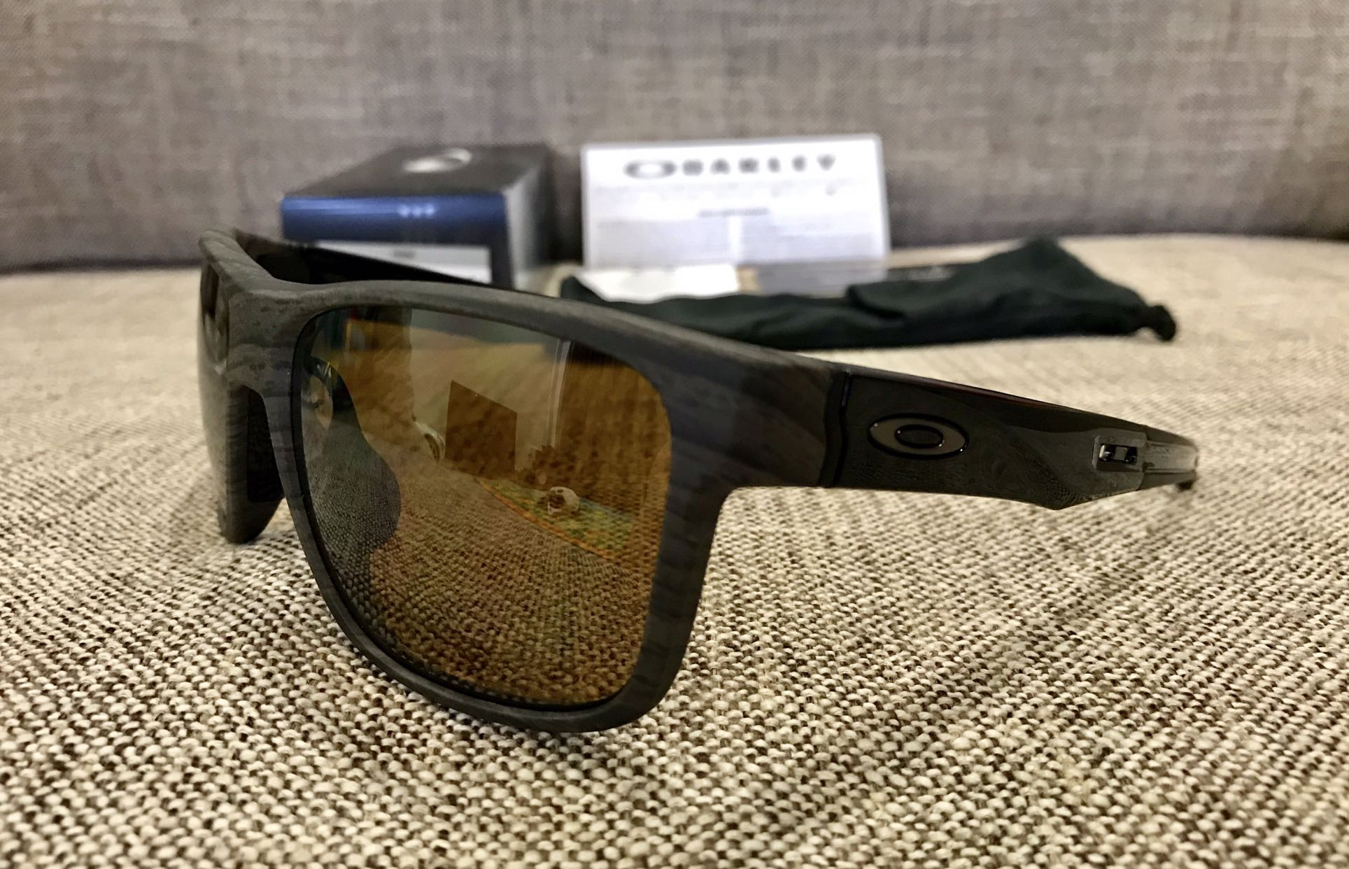 2e7920ebd3 Oakley™ CROSSRANGE Asian Fit (Woodgrain Prizm Tungsten Polarized ...