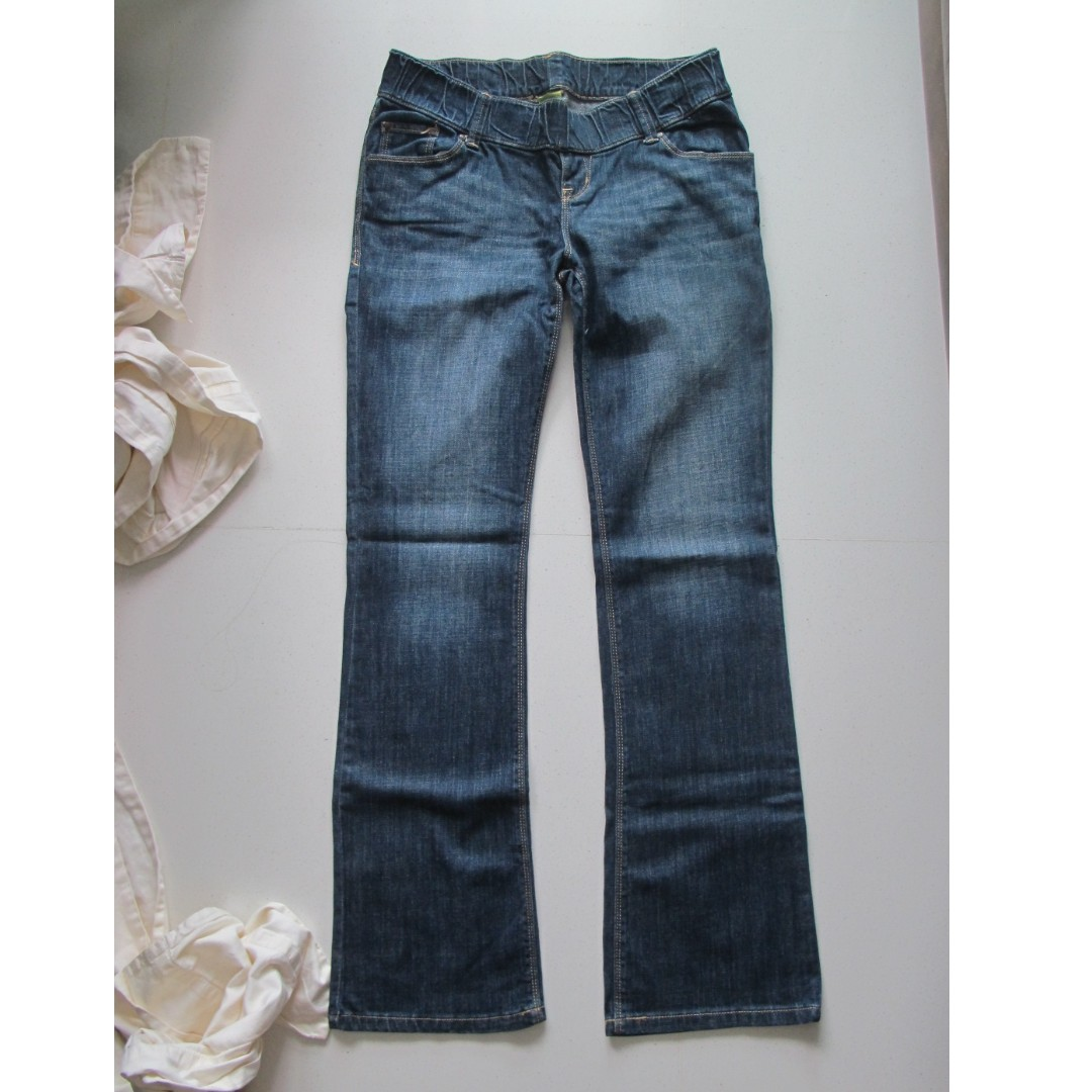 de71b630af827 Old Navy Maternity Jeans (Size 6), Babies & Kids, Maternity on Carousell