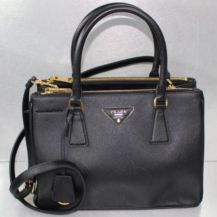 bbe31d041cc3 ... reduced prada black saffiano lux tote small luxury bags wallets  handbags on carousell 08ead 25df0