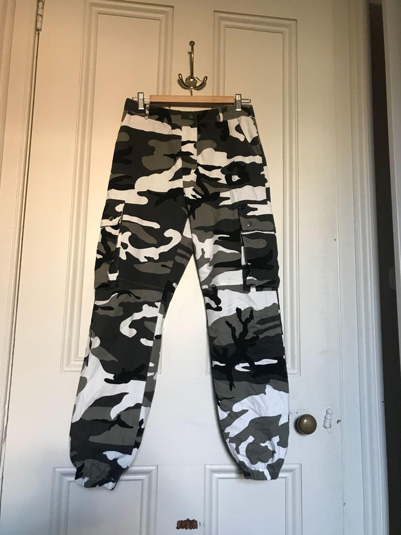 Princess Polly arctic CAMO pants