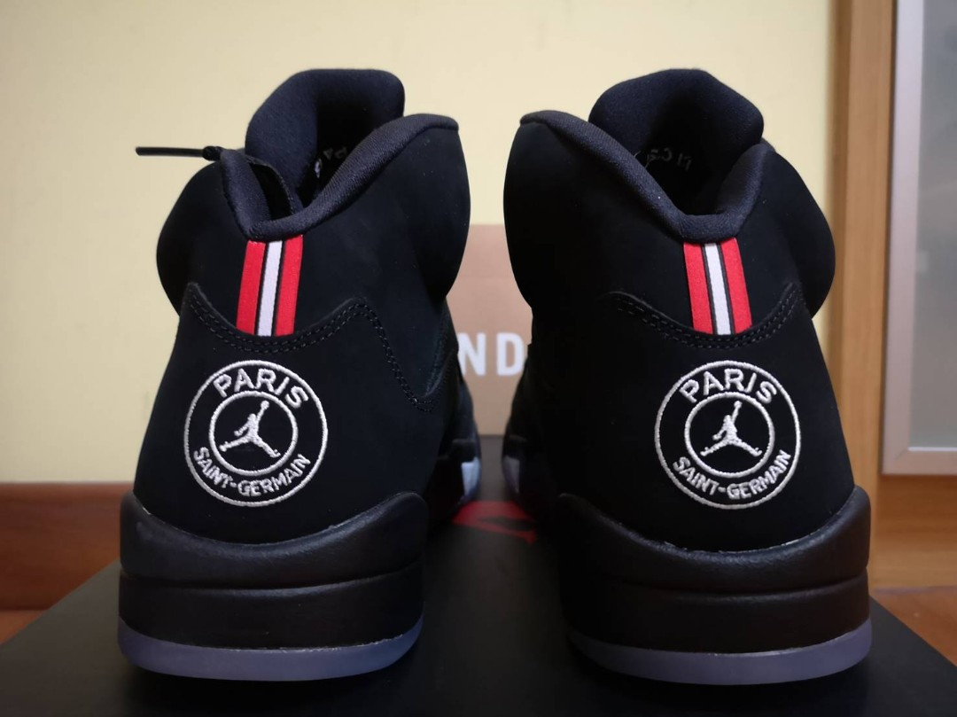 a835548682ca SALE BNIB  US10.5 UK9.5 JORDAN X PARIS SAINT-GERMAIN AIR JORDAN 5 ...