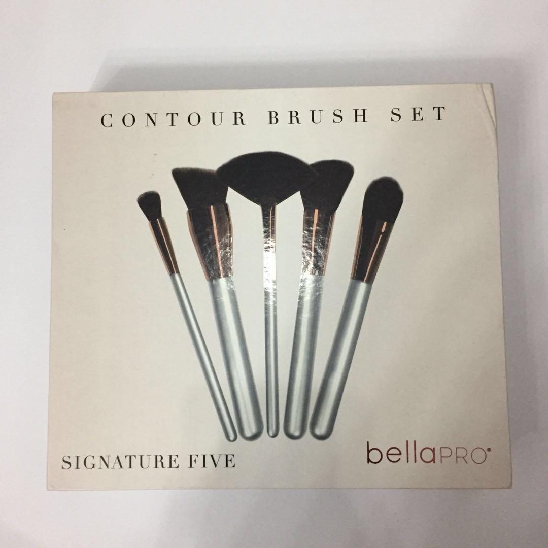 RUSH Bella Pro Signature Five Contour Brush Set