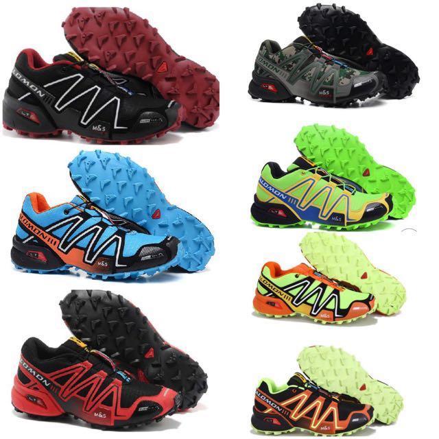 nouveau produit 41f86 29f61 Salomon Trekking Shoe Running Shoe Speed Cross 3, Bulletin ...