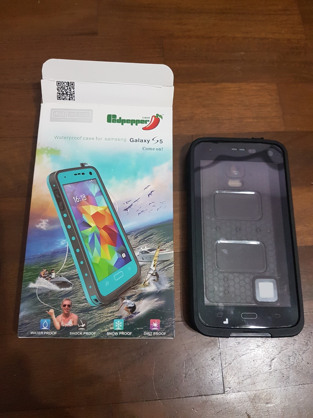 premium selection 82fa5 f5bb7 Samsung Galaxy S5 Waterproof Cover