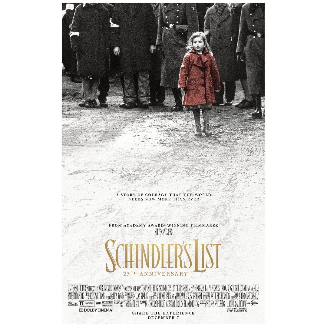 Image result for schindler's list poster