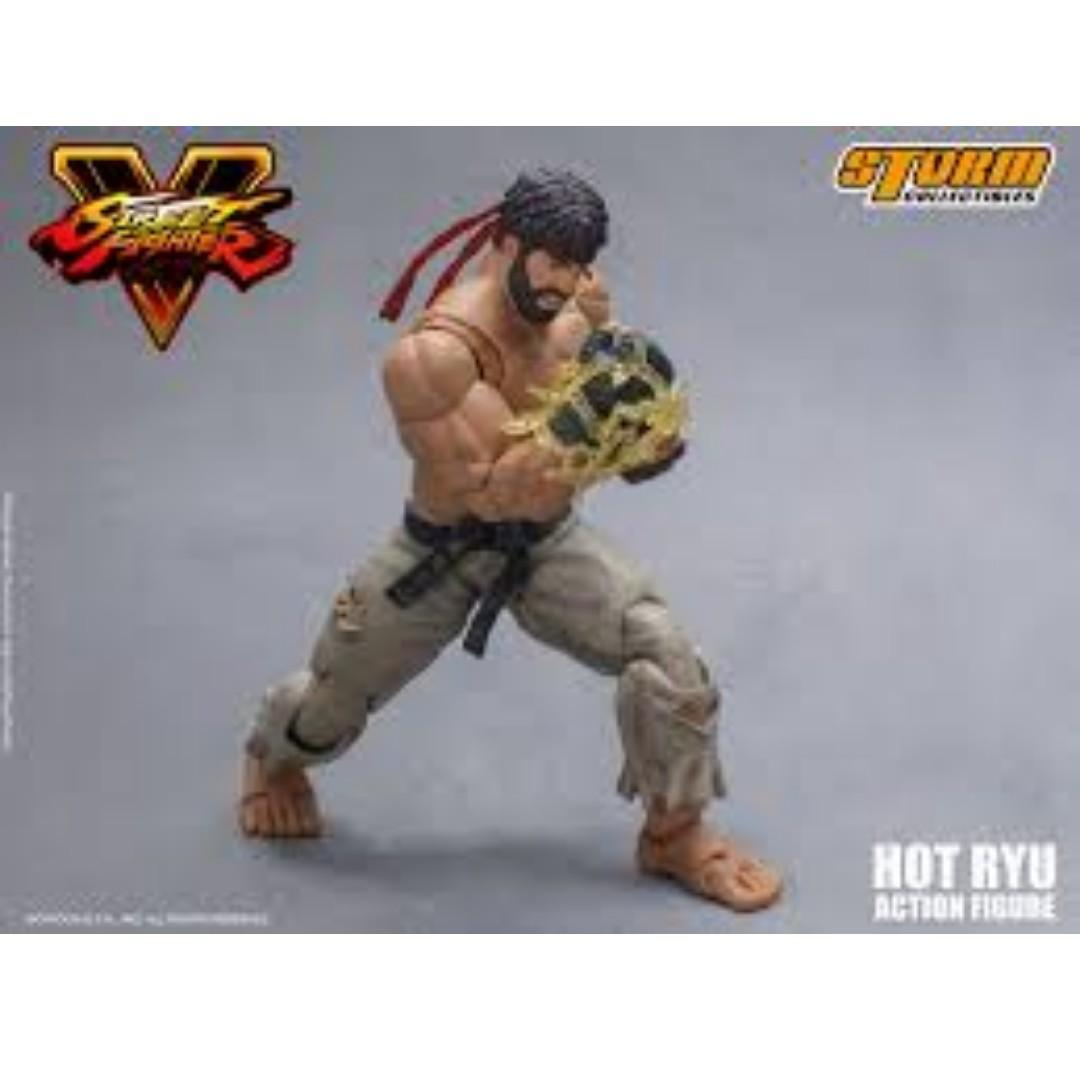 Storm Collectibles Street Fighter Hot Ryu SDCC 2017 Exclusive (Back in Box Condition)