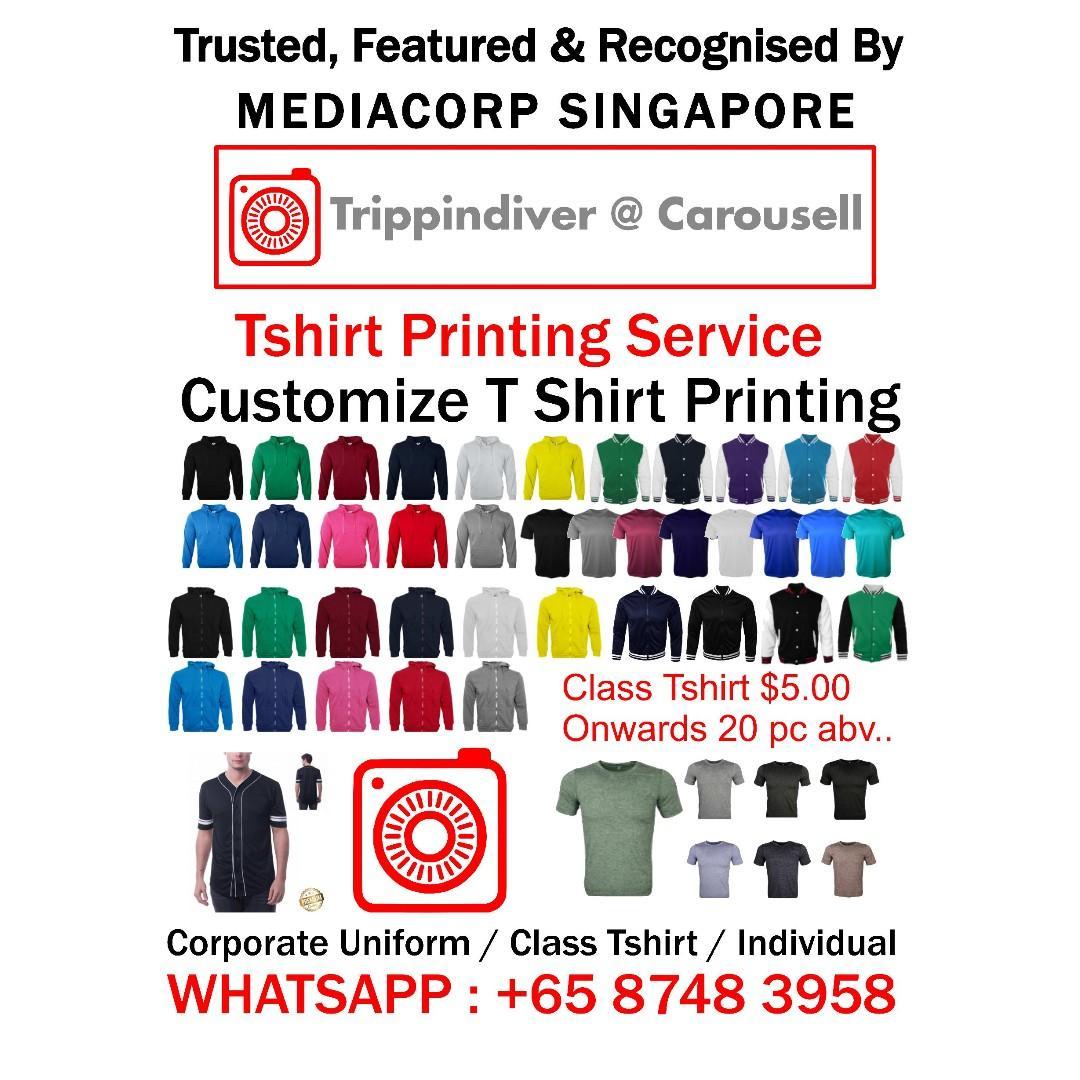 Tshirt Printing Service