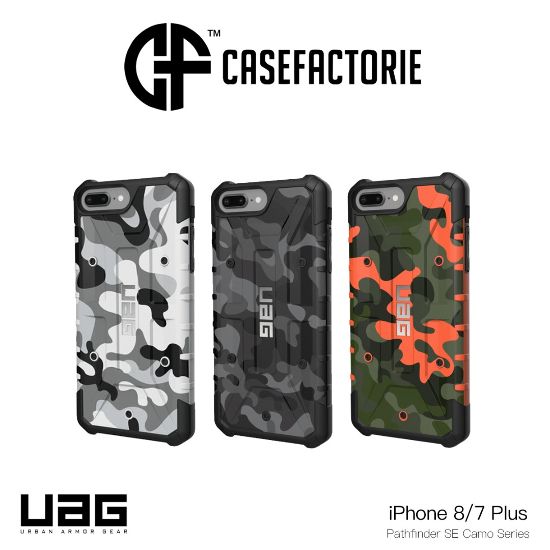 finest selection b6c85 a0623 UAG Pathfinder SE Camo for iPhone 8/7 (Plus)