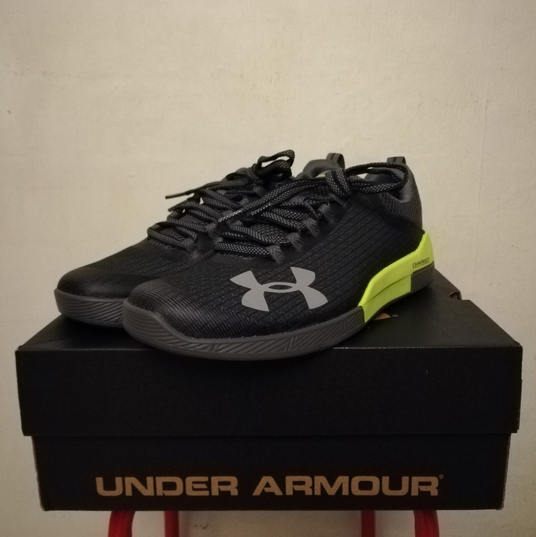 8a64b5e8 Under Armour Charged Legend TR (Grey), Men's Fashion, Footwear ...