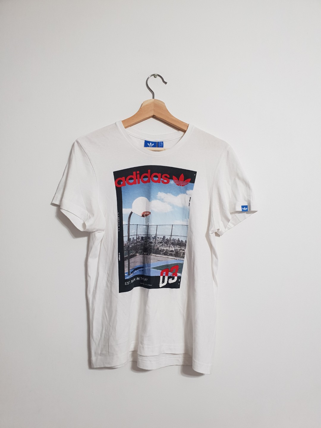 042a6cd3a73 Vintage 2003 Adidas Tee, Men's Fashion, Clothes, Tops on Carousell