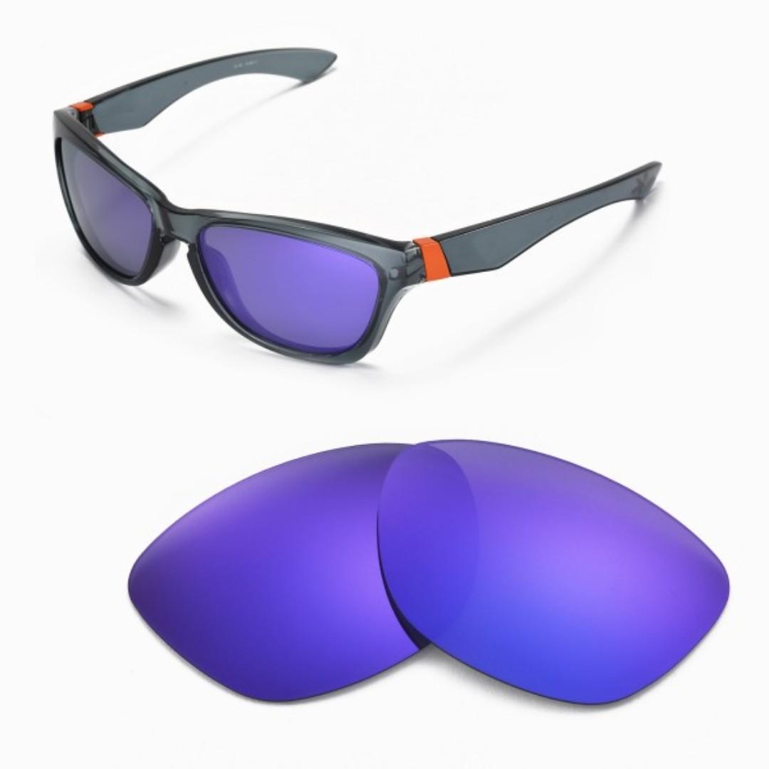 2611dcce1e430 Walleva Jupiter Purple POLARIZED Replacement Lenses for Oakley ...