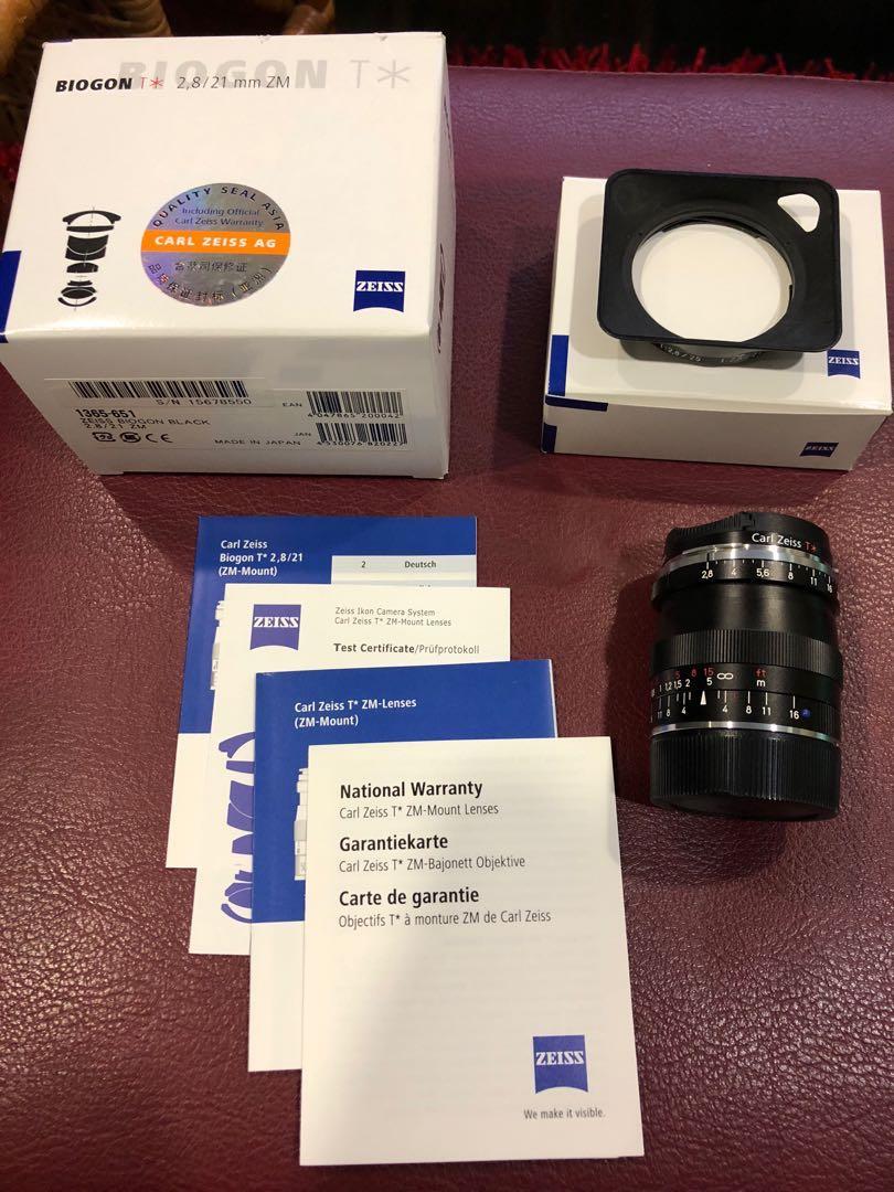 Zeiss M Mount Lenses