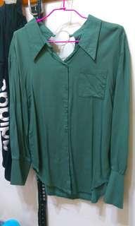 🚚 韓版薄長袖襯衫