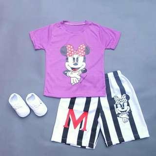 New Set Setelan Baju Anak (baju+celana)