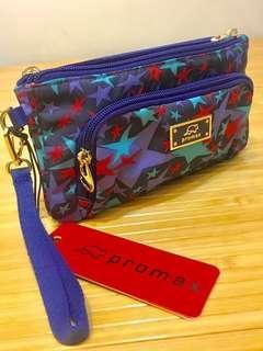🚚 🇫🇷法國Promax®️CHI CHI系列-手挽包/手提包/零錢包/錢包(紫星星)