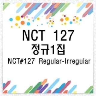[INC EMS] NCT 127 - ALBUM VOL. 1 [NCT # 127 REGULAR - IRREGULAR]