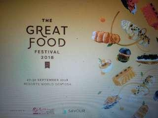 The Great Food Festival at RWS