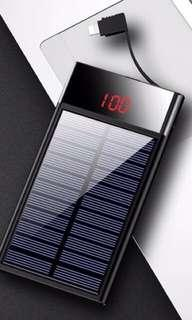 NEW Solar power bank @$49 only!