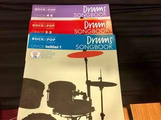 Drums song book