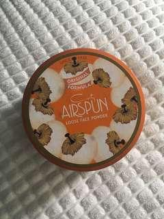 Coty airspun setting powder