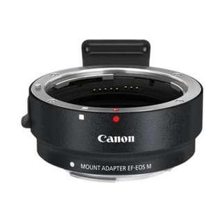 Canon EF Lens Adaptor for Canon mirrorless