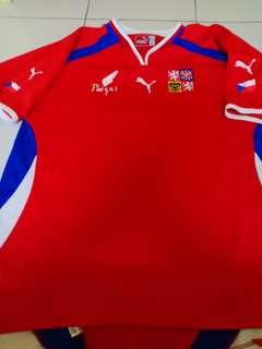 (L) 2000/02 Czech Republic Home Shirt