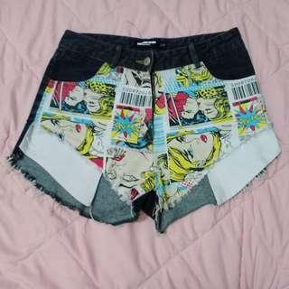Hotpants / Celana Pendek / Celana High Waist