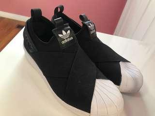 Adidas Slip on Sneakers - Size6.5/7