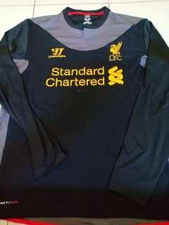 (L) 2012/13 Liverpool Away Kit LS