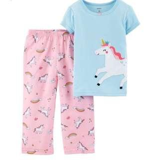 🚚 Carter's unicorn PJs