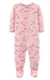 🚚 Carter's unicorn footed PJs