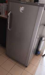 Washing machine and freezer