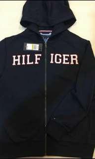 🚚 Tommy Hilfiger  正品全新內刷毛深藍連帽外套