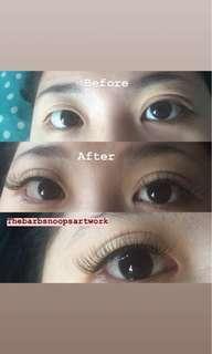Eyelash Extension 3D Volume
