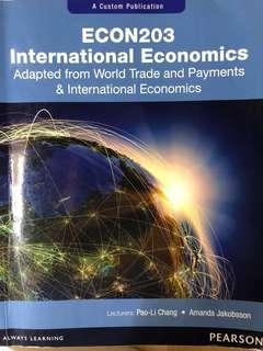 ECON203 International Economics