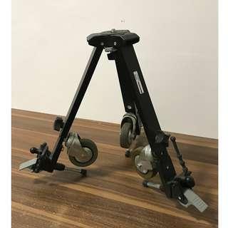 Manfrotto 127VS Variable Leg Spread Portable Dolly (Black)
