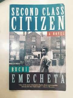 Buchi Emecheta's Second Class Citizen