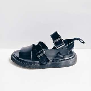 Dr Martens Black Gryphon Sandals