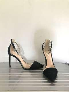 New Zara Lucite Pumps