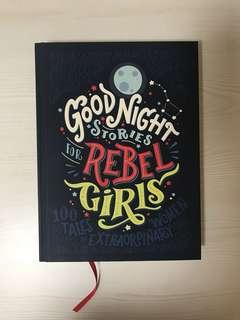 Goodnight Stories for Rebel Girls (100 Extraordinary Tales) Bedtime Stories