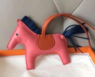 💖SUPERDEAL!!💖Bnib Hermes Rodeo PM Azalee blue orange Charm