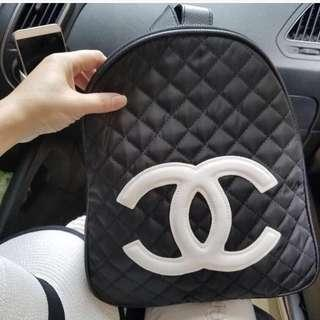 Chanel backpack authentic vip gift last one murah
