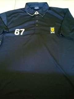 (L) 2003 Scottish FA Polo Shirt