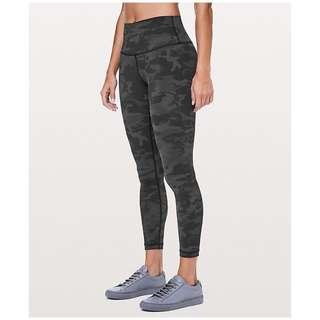 "🚚 NWT Lululemon Wunder Under Hi-Rise 7/8 Tight NULUX 25"" Size 4"