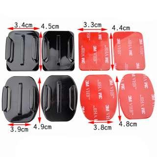 GoPro 3M Adhesive Stickers Mounts