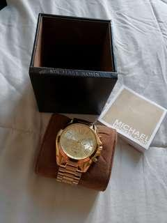 Michael Kors Bradshaw Gold watch